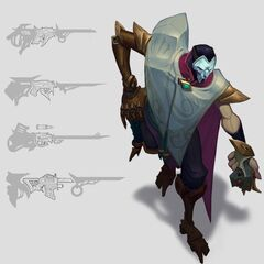 Jhin Concept 20 (by Riot Artist <a href=