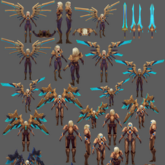 Aether Wing Kayle Update Model 4 (by Riot Artist <a href=