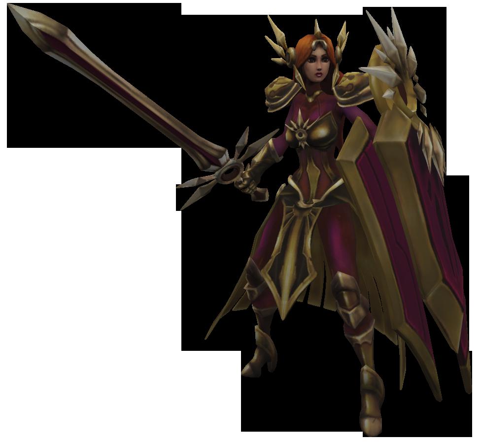 Modelo 3D de Leona. Fuente: Wiki Fandom