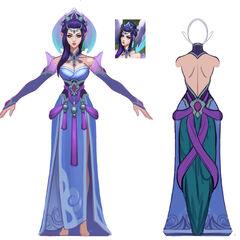 Majestic Empress Morgana Concept 2 (by Riot Artist <a href=