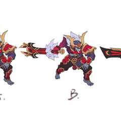 Blood Moon Tryndamere Concept 2 (by Riot Artist <a href=