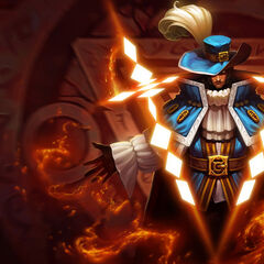 Twisted Fate Mosquetero