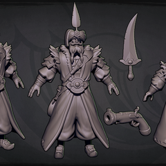 Sultan Gangplank Model 1 (by Riot Artist <a href=
