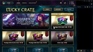 Garena Lucky Crate