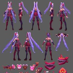 Heartseeker Jinx Model
