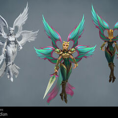 Viridian Kayle Update Model 1 (by Riot Artists <a href=
