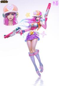 Miss Fortune Arcade- Konzept 2