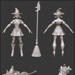 Bewitching Nidalee Update Model 1 (by Riot Artist <a href=