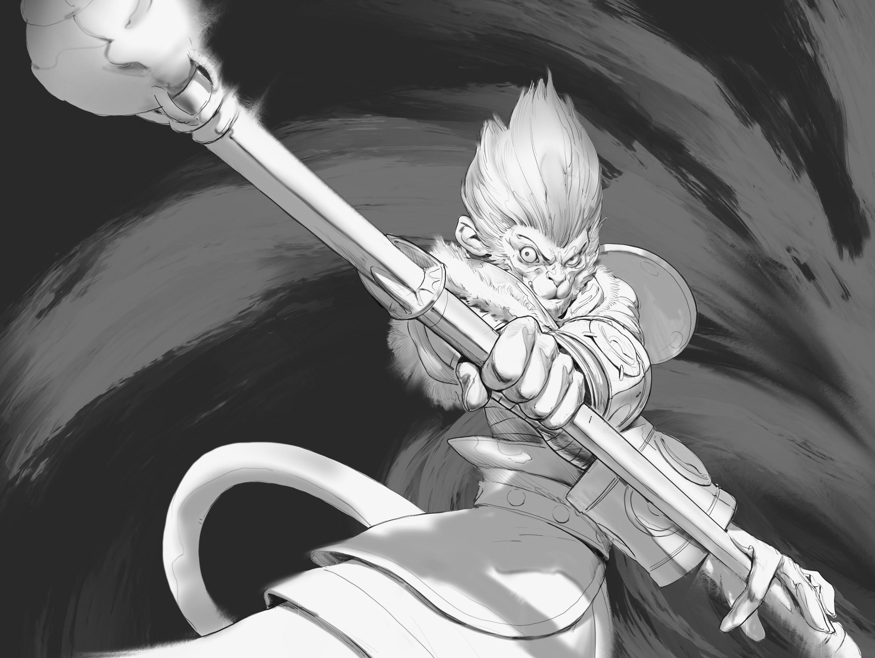 Wukong Fast and Dumb 01