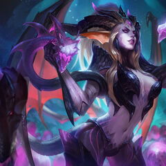 Dragon Sorceress Zyra Splash Concept 5 (by Riot Artist <a href=