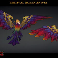 Festival Queen Anivia Model 1 (by Riot Artist <a href=