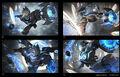 Ezreal Update Pulsefire Splash concept 02.jpg