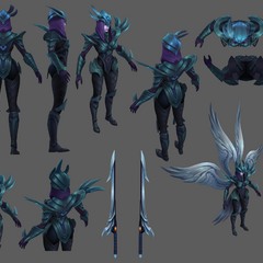 Judgment Kayle Update Model 2 (by Riot Artists <a href=