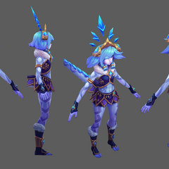 Winter Wonder Neeko Model