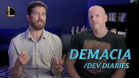 Reintroducing Demacia dev diary - League of Legends
