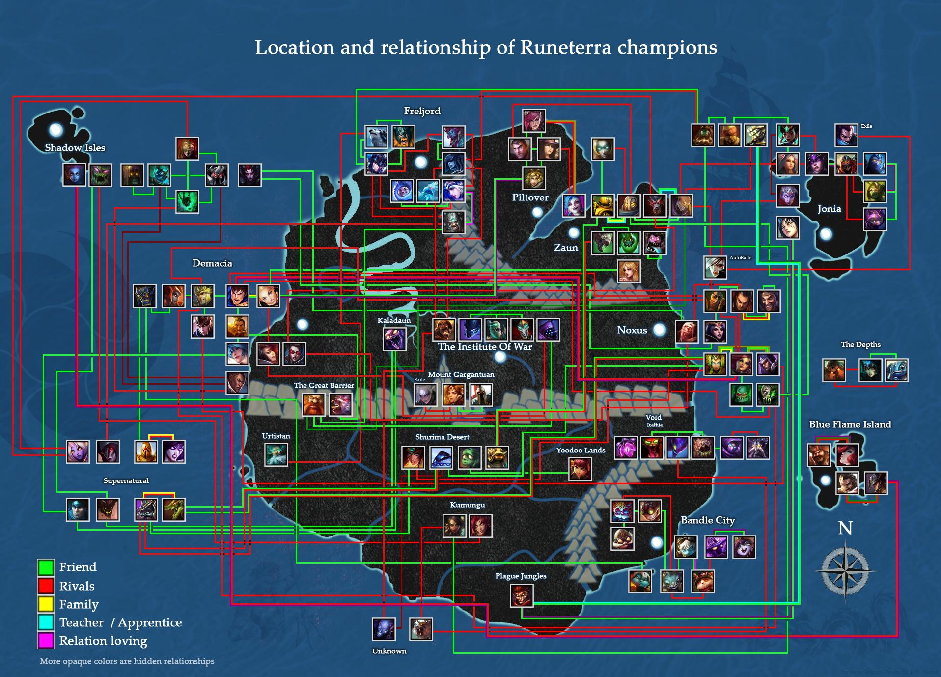 Map Of Runeterra   Helderateliers