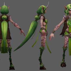 Dryad Soraka Update Model