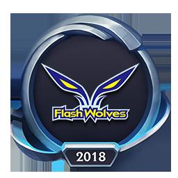 Worlds 2018 Flash Wolves Emote