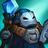 Blauer Zaubervasall Minion