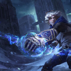 Frosted Ezreal Splash Update Concept 2 (by Riot Artist <a href=
