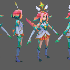 Star Guardian Neeko Model 2 (by Riot Artist <a href=