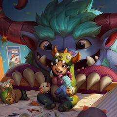 Poro Toy in the Grungy Nunu Splash (also a poster)