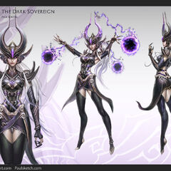 Syndra Concept 3 (by Riot Artist <a href=