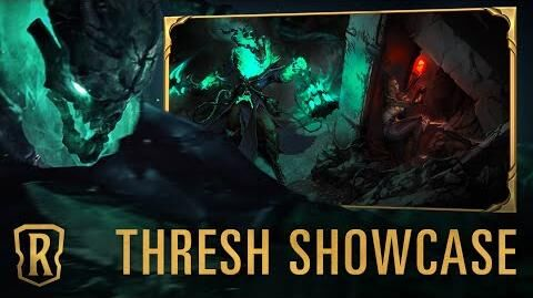 Thresh Champion Showcase Gameplay - Legends of Runeterra