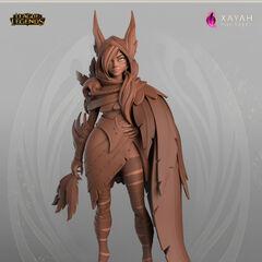 Xayah Model 3 (by Riot Artist <a href=