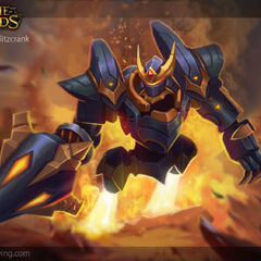 Lancer Rogue Blitzcrank Model 1 (by Riot Artist <a rel=