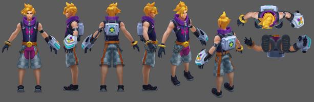 Ezreal Update Arcade- Model 01