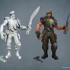 Special Forces Gangplank Update Model (by Riot Artists <a href=