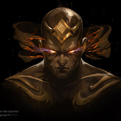 God Fist Lee Sin Promo 1 (by Riot Artist <a rel=