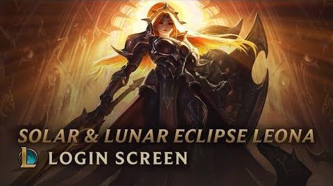 Leona Zaćmienia Słońca i Księżyca - ekran logowania