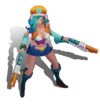 Miss Fortune Arcade (Citrine)