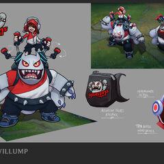 TPA Nunu & Willump Update Concept 2 (by Riot Artist <a href=