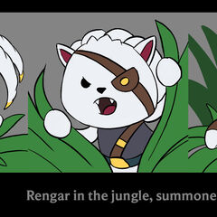 Plush in the Jungle Icon Concept (by Riot Artist <a href=