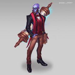 Professor Ryze Update Concept (by Riot Artist <a href=