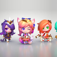 Star Guardian Statue Model 1 (by Riot Artists <a href=