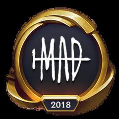 Mistrzostwa 2018 – Złote MAD