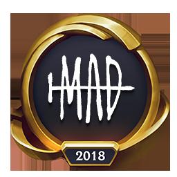 Worlds 2018 MAD Team (Gold) Emote