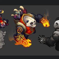 Panda Annie Concept 2 (by Riot Artist <a href=