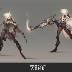 High Noon Ashe Concept 3 (by Riot Artist <a href=