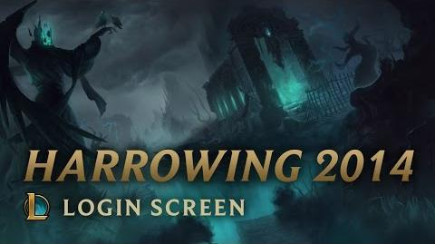 Harrowing 2014 - Login Screen