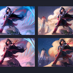 Irelia Update Splash Concept 2 (by Riot Artist <a href=
