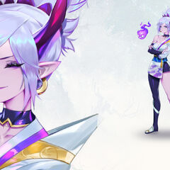 Spirit Blossom Riven Promo 4 (by Riot Artist <a href=
