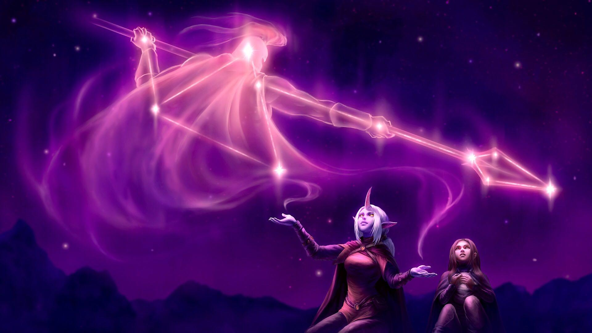 Soraka Halfway Between the Stars and Earth