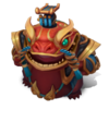 Tahm Kench CoinEmperor (Ruby)