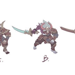 Blood Moon Tryndamere Concept 1 (by Riot Artist <a href=