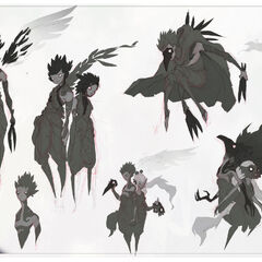 Xayah Concept 9 (by Riot Artist <a href=